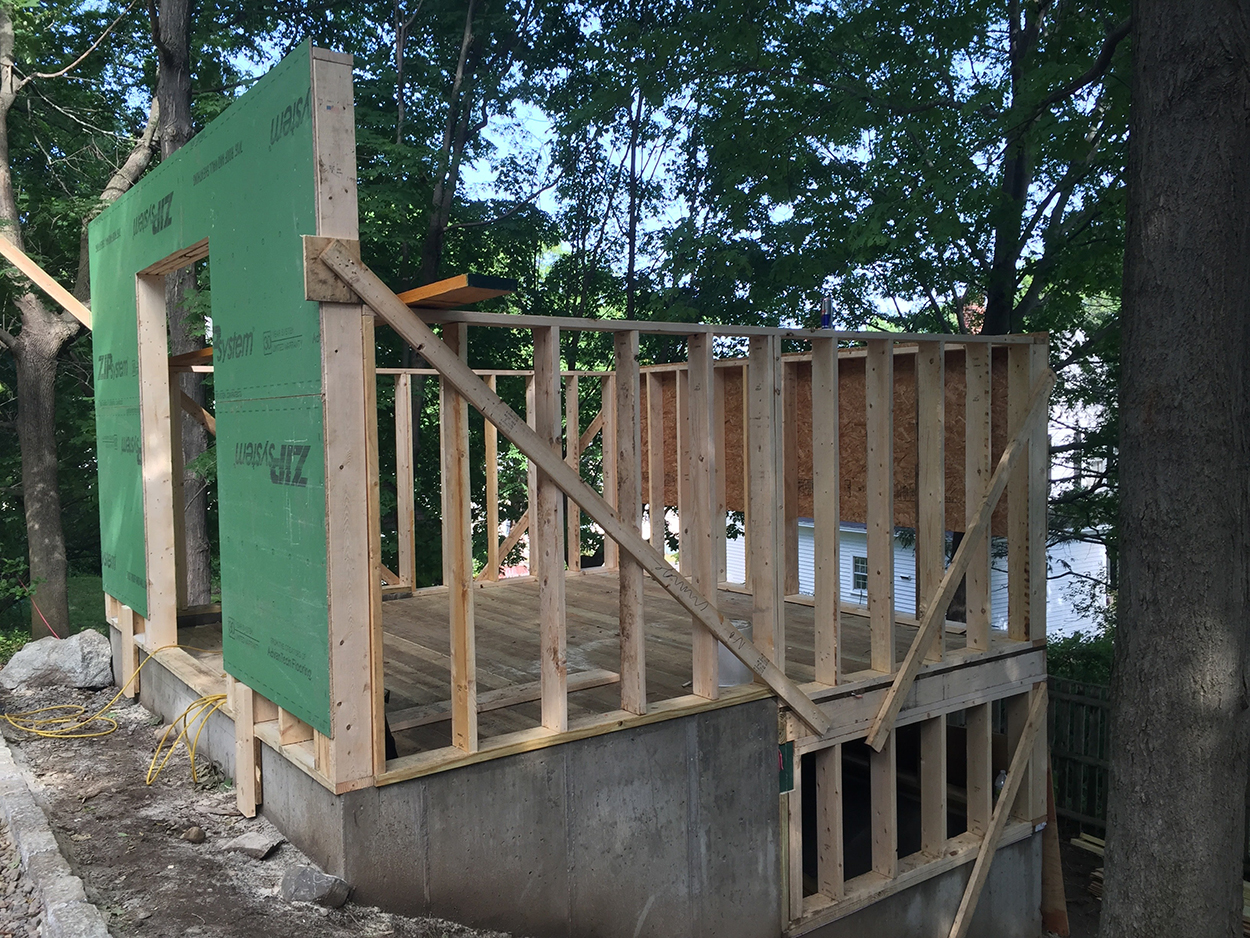 Foundation framing