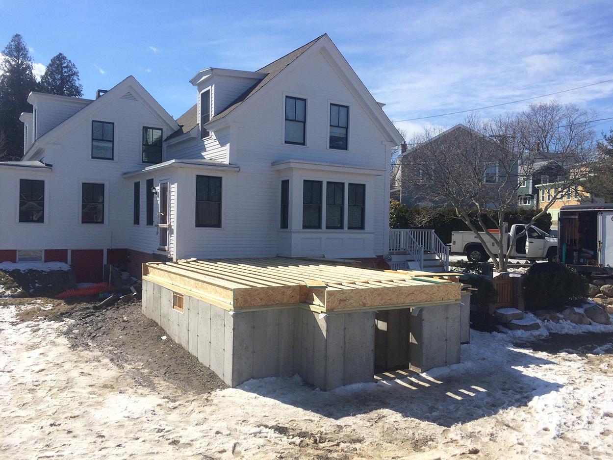 Rockport addition foundation